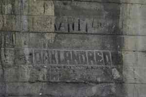 Caption: Century-old graffiti under a bridge in Los Angeles. Source: AP Photo, J.C. Hong.