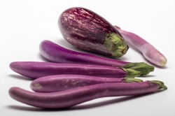 Aubergines were a key ingredient in porto-curry. Source: Creative Commons