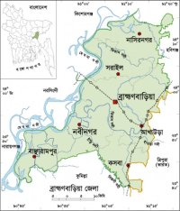 Bangladesh, showing Brahmanbaria. Source: Facebook