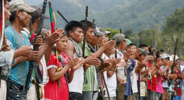 Indigenous people want land rights. Source: Bluedotpost.com