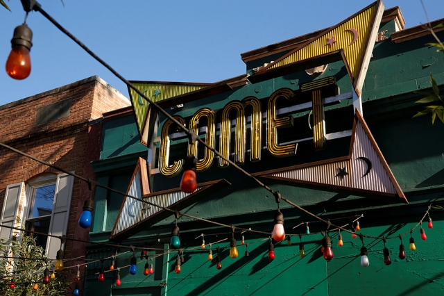 "Comet Ping Pong restaurant in DC, site of recent fake news about child trafficking prompting an armed man to ""self-investigate"" on December 4  Source: Jonathan Ernst/REUTERS"