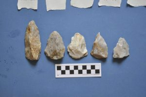 Spearheads from Naxos  Source: Stelida Naxos Archaeological Project