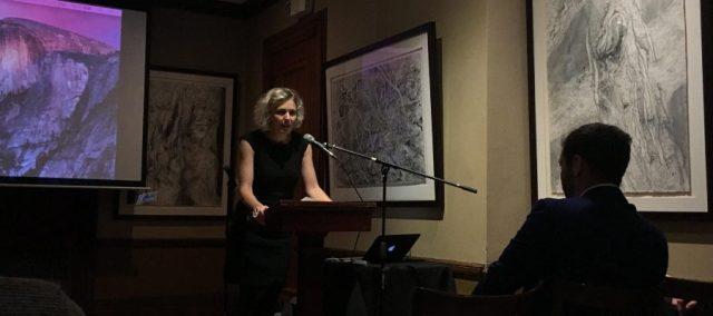 Professor Lisa Stevenson at the event. Source: Claire Avisar
